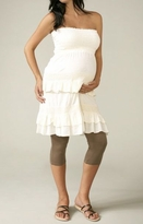 Maternal America Taupe Brown Maternity Leggings -Also In Black