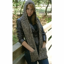New! Trendy Hooded Pocket Scarf - more colors
