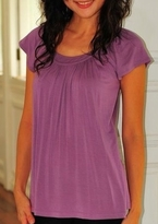 NEW! Beautiful Shirred Maternity and Nursing Tunic Top - more colors!