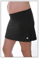 Oxford Black Maternity Skort - Also in Charcoal!