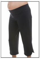 BornFit Princeton Maternity Crop Exercise Pants