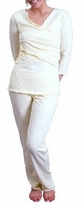 New! Criss Cross Nursing / Maternity Pajamas Set  - more colors