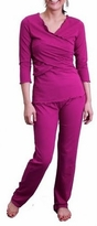 Criss Cross Nursing /Maternity Pajamas Set - more colors