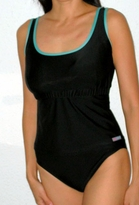 Scoop Neck Nursing Tankini Swimsuit - more colors