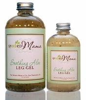 The Spoiled Mama Massaging Cucumber & Aloe Leg Gel