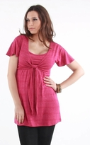 Tammi Maternity/ Nursing Faux Wrap Tunic