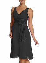 New! Manda Black Formal Maternity Dress