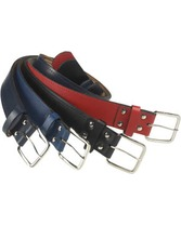 Adult Leather Baseball Belts Multi Color