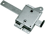 "Universal Garage Door Locking Side Latch Mechanism for 2"" or 3"" Track"