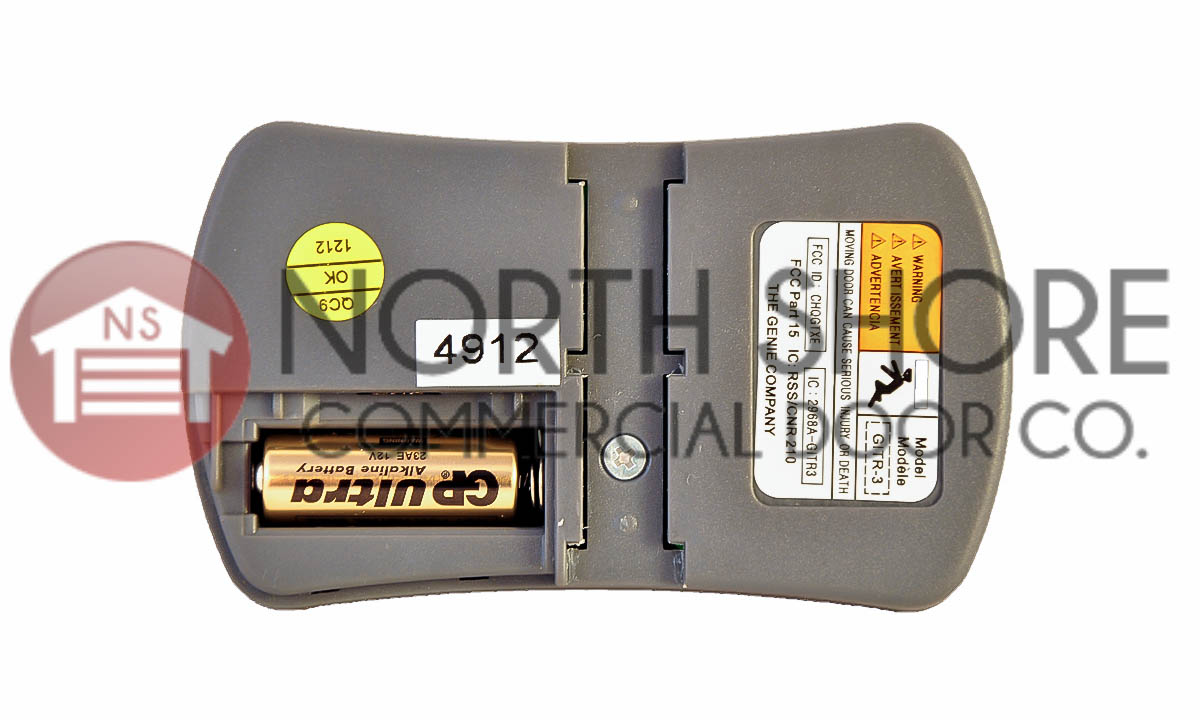 Genie Gitr 3 Three Button Garage Door Opener Remote 37517s