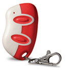 Transmitter Solutions Monarch 318DOPW2K-AWID Gate Opener 2 Button Keychain Remote