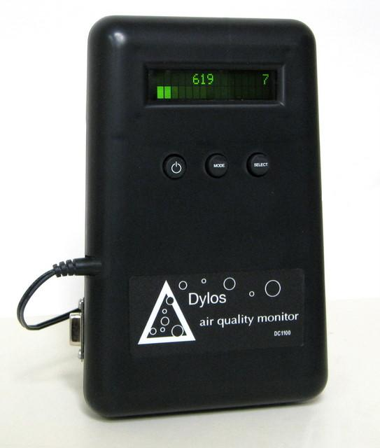Dc1100 Pro Air Quality Monitor With Pc Interface
