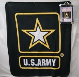 Polar Fleece Blanket - U.S. Army