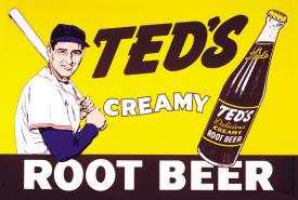 Nostalgic Tin Signs / Ted's Creamy Root Beer