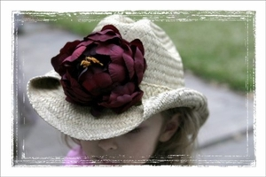 <center>Wine Rose Cowboy Hat</center>
