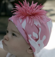 <center>Pink Daisy/Pink Camo Hat</center>