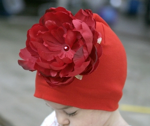 <center>Red Peony/Red Hat</center>