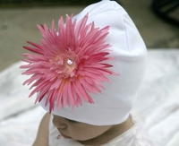 <center>Pink Daisy/White Hat</center>