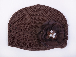 <center>Chocolate Knit/Chocolate Flower</center>