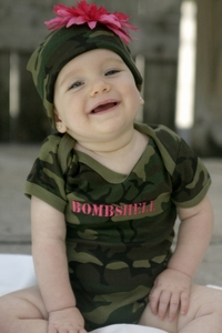 <center>Military Baby Snapsuits</center>