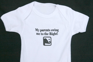 "<center>""My parents swing me to the Right""</center>"