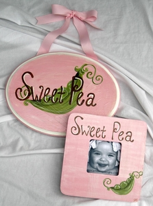 "<center>""Sweet Pea"" Gift Set</center>"