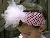 <center>Light Pink TuTu Headband</center>