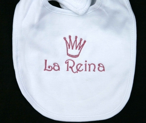 La Reina Bib (The Queen)