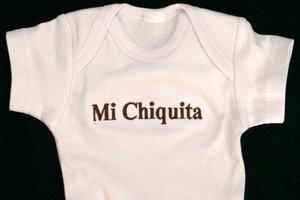 "<center>""Mi Chiquita"" (My Little One)</center>"