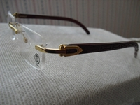 Designer (Brown wood) Eyewear style 1G
