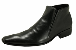 MorCouture Mens Leather Ankle Boots