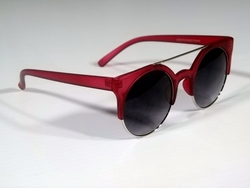 Red Retro Sunglasses
