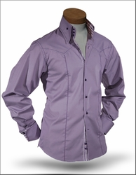 Angelino Elmo Purple High Collar Shirt size 5XL