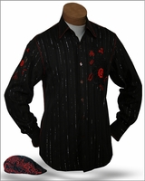 Angelino Amato  Shirt with Matching Cap