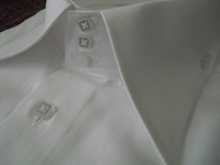 Axxess White High Collar Shirt Size 4XL(19.5 - 20)
