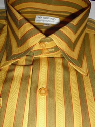Angelino MST Gold Stripe shirt