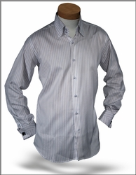 Angelino DST Blue Stripe shirt