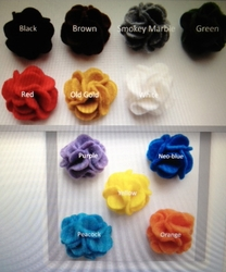 MorCouture Carnation Lapel Flower (12 colors)