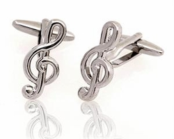 Treble Clef cufflinks
