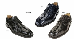 Belvedere Bruno Hornback Crocodile and EEL Shoes