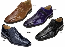 Belvedere Mare Ostrich and EEl Shoes
