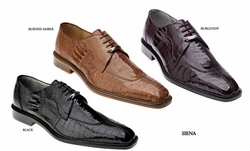 Belvedere Siena Ostrich Shoes
