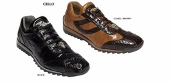 Belvedere Cello Genuine Caiman and EEL Shoes
