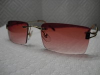 Designer Red Sunglasses