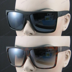 Designer Inspired Mod Flat Top Sunglasses (Black or Tortoise)