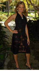 Womens Sundress / Womens Sun Dress 4 in Bamboo-2