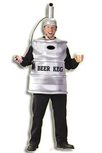Adult Beer Keg Costume