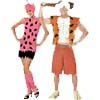 Pebbles and Bam-Bam Costumes