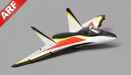 AeroSky Delta 3 Channel EDF Jet ARF Wingspan 510mm RC Plane