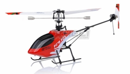 New Art-Tech 4-CH FireFox RC Remote Control Helicopter 2.4Ghz (Red) RTF